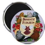 "Domestic Flights Scroll 2.25"" Magnet (100 pac"