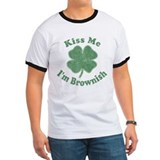 Kiss Me I'm Brownish T