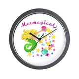 Mermagical Wall Clock