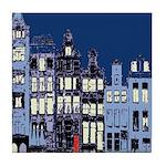 Blue Dutch Tile Coaster
