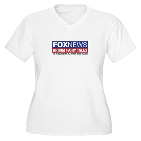 FoxNews Grimm Fairy Tales Women's Plus Size V-Neck