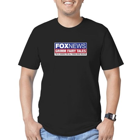 FoxNews Grimm Fairy Tales Men's Fitted T-Shirt (da