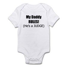 My Daddy Rules Infant Bodysuit