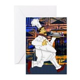 Greeting Cards (Pk of 20) Chef on the run