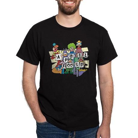 April Fools Day Black T-Shirt