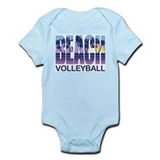 Beach Volleyball Infant Bodysuit