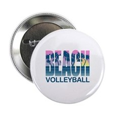 "Beach Volleyball 2.25"" Button"