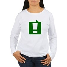 Exclamation (Green) T-Shirt