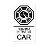 Dharma Initiative &amp;quot;Car&amp;quot; Decal
