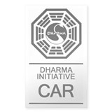 Dharma Initiative &amp;quot;Car&amp;quot; Sticker (Rectang