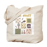 Girl Stuff Tote Bag