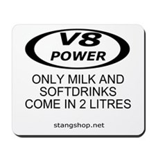 V8 Power Mousepad