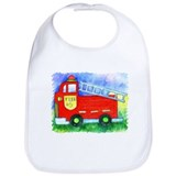 Kids Stuff - Fire Truck #5 Bib
