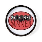 Original Sinner Circle Wall Clock