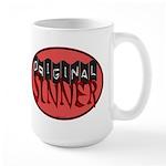 Original Sinner Circle Large Mug