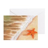 Starfish Vacation Greeting Cards (Pk of 10)