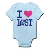 I Heart LOST Onesie