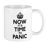 Time To Panic Coffee Mug
