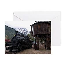 Shay Locomotive & Tower Greeting Card