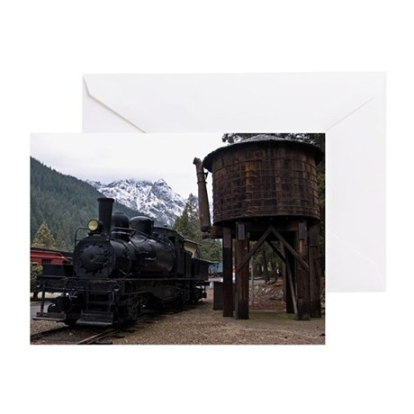 Shay Locomotive & Tower Greeting Cards (Pk of 10)