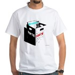 'Straight From The Crate' White T-Shirt