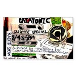 'Catatonic' Sticker