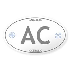 AC: Anglican Catholic Oval Vehicle Decal