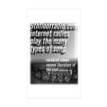 9th Floor Radio Sticker Pack (10 pk)