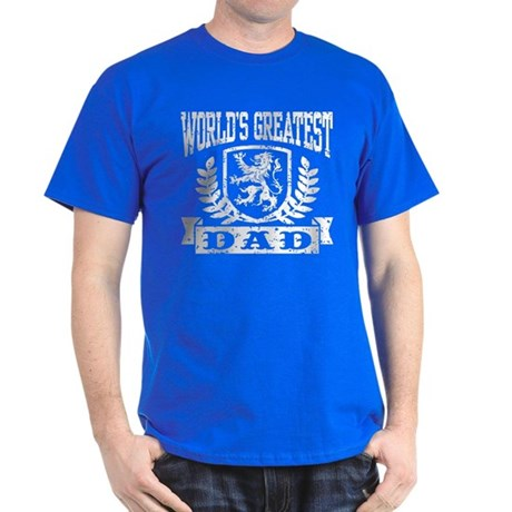 World's Greatest Dad Dark T-Shirt