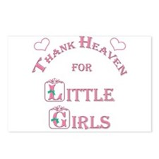 Thank Heaven for Little Girls Postcards (Package o