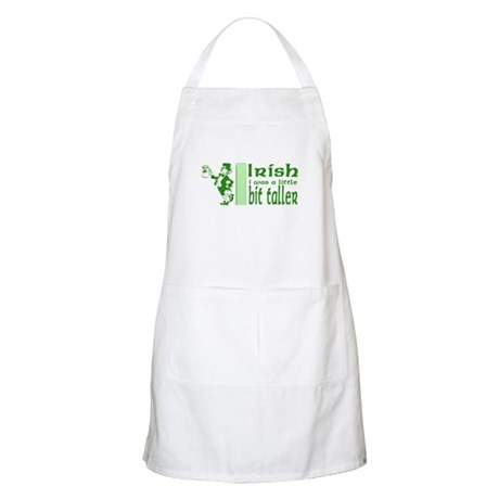 Irish I Was a Little Bit Tall Apron