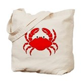 Crab Tote Bag