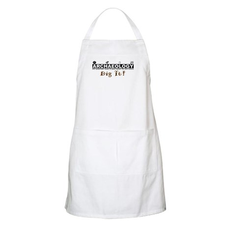 Archaeology, Dig It! BBQ Apron