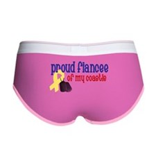 Proud Fiancee of my Coastie Women's Boy Brief