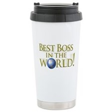 Best Boss in the World Ceramic Travel Mug