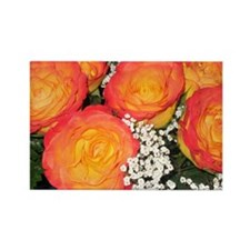 Roses Rectangle Magnet