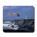 Lighthouse & Seagull Mousepad