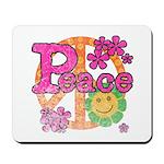 Vintage Peace Mousepad