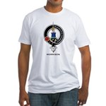 Morrison Clan Crest Badge Fitted T-Shirt