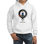 Morrison Clan Crest Badge Hooded Sweatshirt