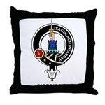 Morrison Clan Crest Badge Throw Pillow