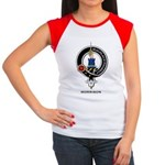 Morrison Clan Crest Badge Women's Cap Sleeve T-Shi