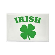 Unique Lucky march 17th saint patrick's day shamrock Rectangle Magnet