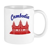 Cambodia Colors Small Mug