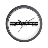 """Tattoo"" Wall Clock"