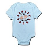 Jersey Shore Fist Pump Infant Bodysuit