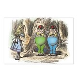 Tweedledum and Tweedledee Postcards (Package of 8)