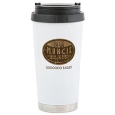 Muncie Business College Ceramic Travel Mug