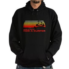 Save A Wave Ride A Surfer Hoodie