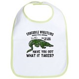 Crocodile Wrestling Bib